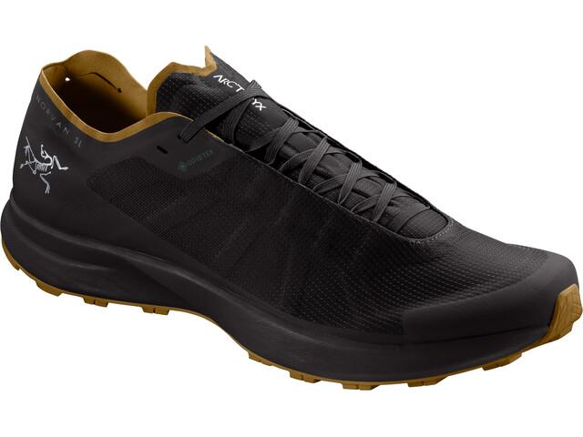 Arc'teryx Norvan SL GTX Shoes Men black/yukon